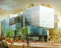 Oslo Deichmanske Library Competition - ADEPT Architects