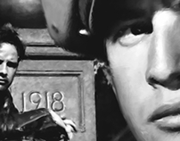 Marlon Brando in the film The Wild One