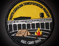 Rail Camp Boy Scout patches