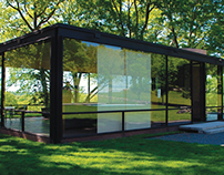 Philip Johnson's Glass House, Golden Section Analysis