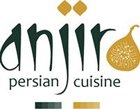Anjir Cuisine Corporate Identity