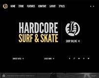 Hardcore Shop, Joomla Dark Virtuemart Template