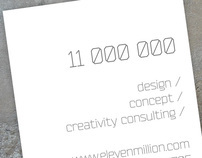 11 000 000 business card