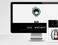 Lucia Ferro . Personal Website