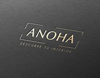 Branding Anoha Oscar creativo