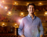 Tom Cruise en el Teatro Colon. OBLIVION