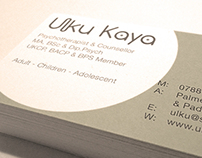 Psychotherapist Logo & Business Card