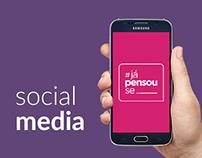 #JáPensouSe | Social Media