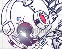 RockMan DRN-001 (MegaMan Tribute)