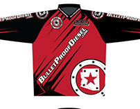 Bullet Proof Diesel MX Jersey