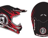 Bullet Proof Diesel MX Helmet