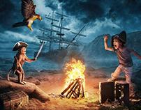 海盗系列影视海报设计(2)