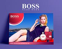HUGO BOSS WOMEN Poster Advertisement