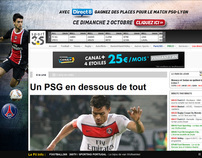 Habillage football (Sport365.fr, DirectStar.fr)