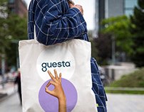 Guesta — Brand development for a hospitality management