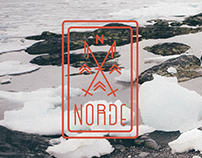 Norde Tribe Website Branding