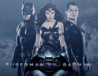 Poster For Film Batman Vs Superman