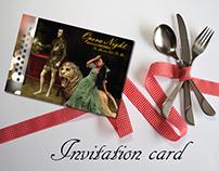 Fundraising Party|Invitation card