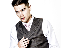 Studio Fashion Shoot for Alexander Caine Menswear