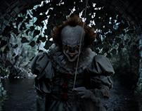 """""""It"""" Movie Manipulation (free wallpaper & header)"""