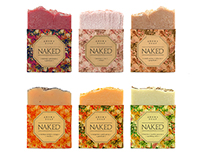 NAKED / soap packaging