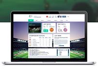 iNetball website design
