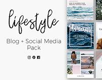 Lifestyle Blog & Social Media Pack