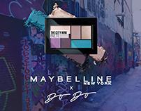 Maybelline packaging design