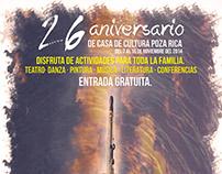 26 aniversario Casa de Cultura Poza Rica