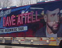 Dave Attell Insomniac Tour Bus Graphics