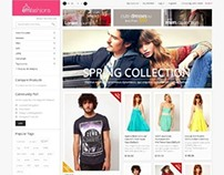 EM Fashionist, Magento Retina Ready Fashion Theme