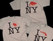 T-shirt prototypes for apparel company