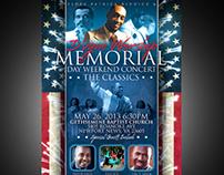 Memorial Day Concert Promo