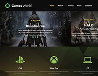 World of Games Joomla Template