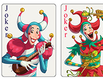 Playing Cards for Random Salad Games.