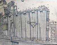 Grain Towers
