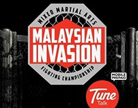 MALAYSIAN INVASION: MIXED MARTIAL ARTS (TUNE TALK)