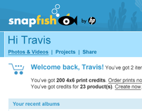 Snapfish Worldwide Header/Footer redesign