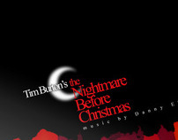 The Nightmare Before Christmas - CD cover