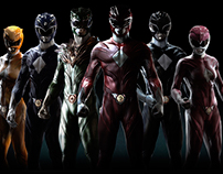 """Power Rangers"" Redesign"