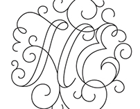 H&E Wedding Logo