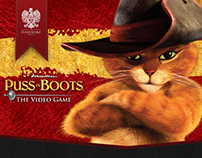 Puss in Boots Video Game - Rich Media Advertisement