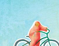 Wadjda, italian film poster