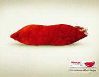 Herplex - serija print oglasa