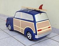 Modelo carro woodie