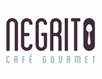 Identidade Visual Negrito café gourmet