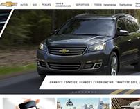 Sitio Web Chevrolet LATAM