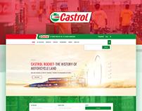 Redesign - Castrol Website Concept