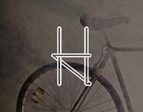 Halcyon Bike Shop Logo & Website