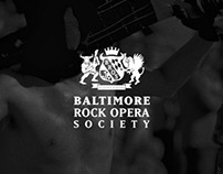 Baltimore Rock Opera Society Logo & Website